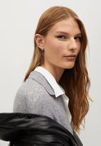 MANGO - Dress polin - grey