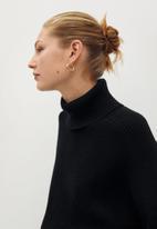 MANGO - Sweater palmer - black