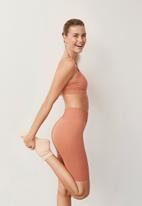 MANGO - Shorts claudi - light pastel orange
