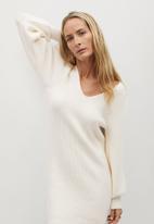 MANGO - Dress sayn - neutral
