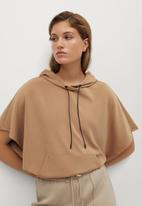 MANGO - Sweatshirt sport - brown