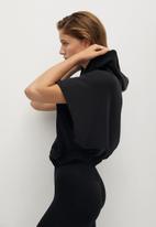 MANGO - Sweatshirt sport - black