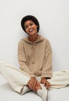 MANGO - Sweatshirt maxime - beige