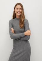 MANGO - Dress flurry - grey