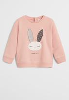 MANGO - Mires sweatshirt - pink
