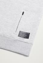 MANGO - Micheal sweatshirt - grey