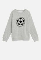 MANGO - Player sweatshirt - grey