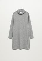 MANGO - Dress bila - grey