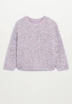 MANGO - Lilab sweater - purple