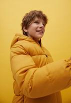 MANGO - America anorak - yellow