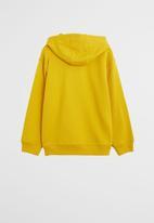 MANGO - High sweatshirt - yellow