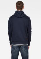 G-Star RAW - Premium core hdd zip sw long sleeve - navy