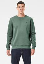 G-Star RAW - Premium core r sw long sleeve - green