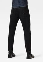 G-Star RAW - Scutar 3d slim-nero black stretch denim - black