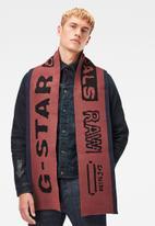G-Star RAW - Effo vector scarf - red & blue
