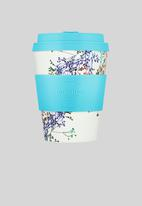 Ecoffee Cup - Canning street ecofee cup - white & blue