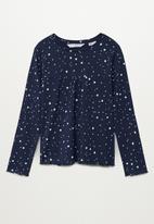 MANGO - Galaxy pyjamas - navy