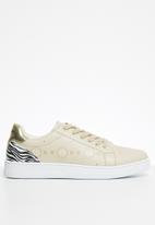 Sissy Boy - Zebra crossing sneaker - neutral