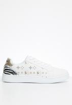 Sissy Boy - Zebra crossing sneaker - white