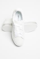 Sissy Boy - Duchess sneaker with bling sole  - white