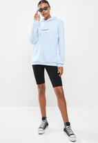 Factorie - Graphic hoodie - blue