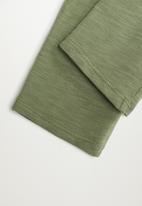 MANGO - June trousers - green