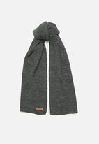 JEEP - Knitted scarf - charcoal