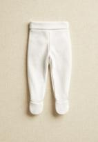 MANGO - Polaina trousers - white