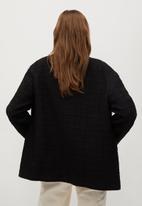 MANGO - Jacket canela - black