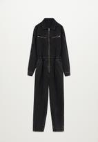MANGO - One-piece suit luna - black