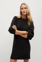 MANGO - Dress koyo - dark grey