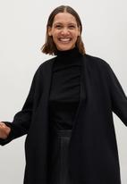 MANGO - Jacket martini - black