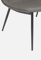 Sixth Floor - Luna lounge chair - charcoal