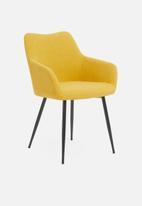 Sixth Floor - Moken dining chair - ochre
