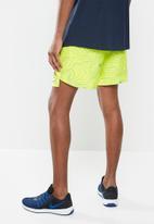 Nike - Nike ek challenger 7in short - yellow & blue