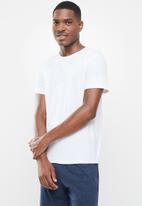BOODY - Crew neck T-shirt - white