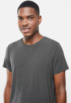 BOODY - Crew neck T-shirt - charcoal