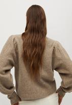 MANGO - Sweater koyo - brown