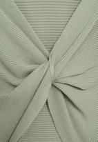 MANGO - Sweater margot - green