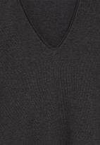 MANGO - T-shirt piceasy - medium grey
