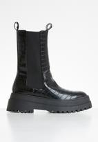 Public Desire - Blame boot - black
