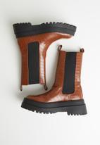 Public Desire - Blame boot - tan