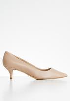 ALDO - Sieriaflex leather court - beige