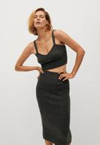 MANGO - Skirt taldora - dark grey