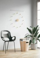 Umbra - Hangtime clock - white & natural