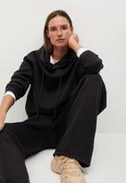 MANGO - Sweatshirt neosoft - black