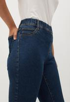 Violeta by Mango - Plus Jeans massha - blue