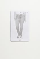 Violeta by Mango - Plus Jeans susan - dark grey