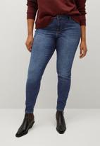 Violeta by Mango - Plus jeans andrea - blue