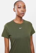 Nike - Nike sportswear essential tee crew - khaki
